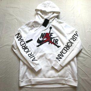 Nike Air Jordan Jumpman Pullover Hoodie White XXL